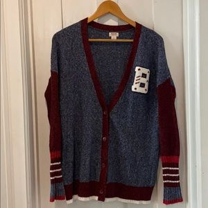 Mossimo Supply Co Lettered Cardigan {S}